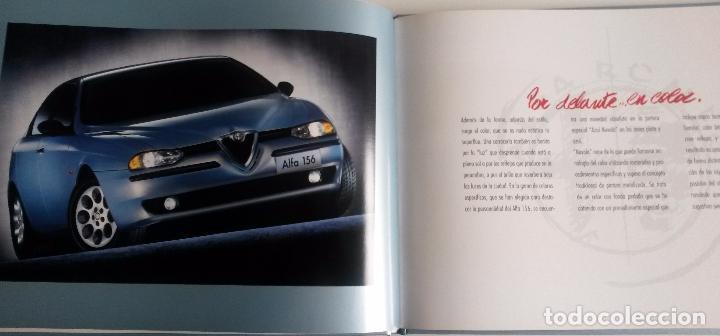 Coches y Motocicletas: LIBRO ALFA 156. - OFICIAL ALFA ROMEO. Año 1997. - Foto 2 - 86126888