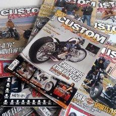 Coches y Motocicletas: LOTE 7 REVISTAS CUSTOM MACHINES + 1 XTREME BIKES + 1 MONDO BIKER. ?TOTAL 9 REVISTAS. . Lote 86129064
