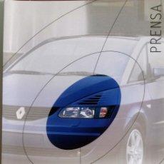 Coches y Motocicletas: DOSSIER DE PRENSA OFICIAL RENAULT DESIGN.. Lote 86130032