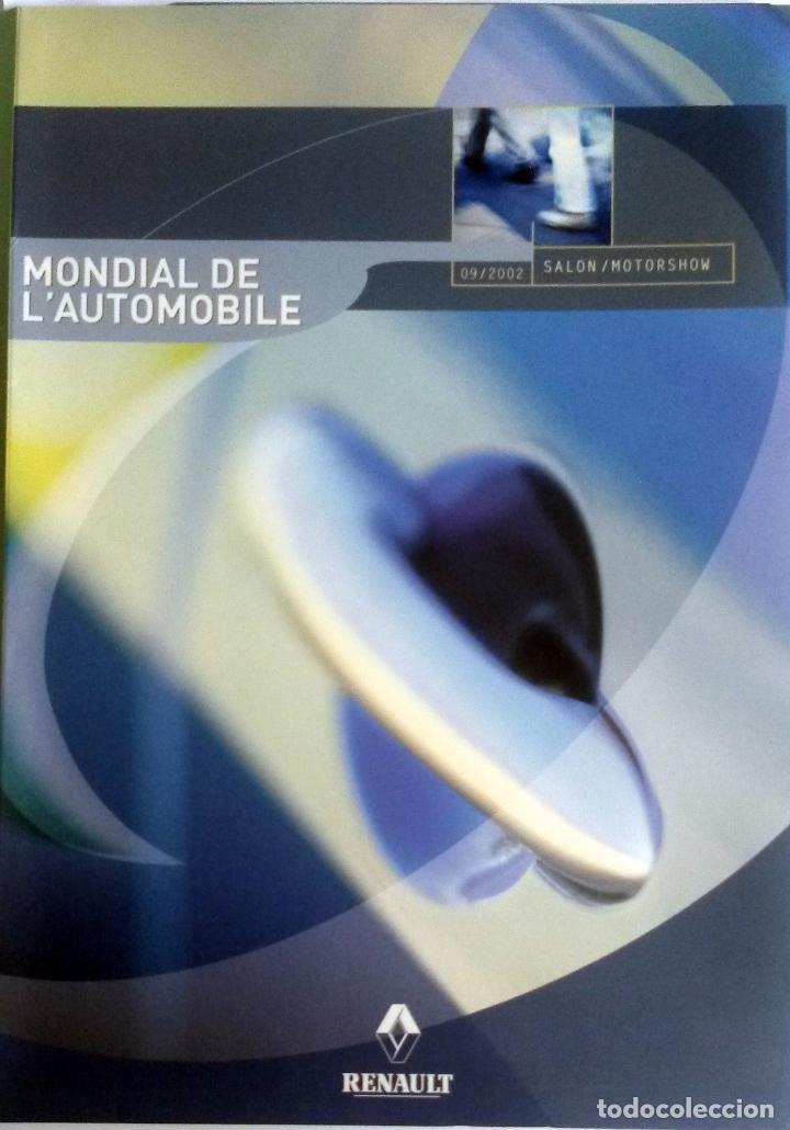 DOSSIER DE PRENSA OFICIAL RENAULT - MUNDIAL AUTOMÓVIL DE PARIS - 2002. (Coches y Motocicletas Antiguas y Clásicas - Catálogos, Publicidad y Libros de mecánica)