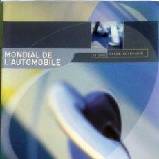 Coches y Motocicletas: DOSSIER DE PRENSA OFICIAL RENAULT - MUNDIAL AUTOMÓVIL DE PARIS - 2002.. Lote 86130464