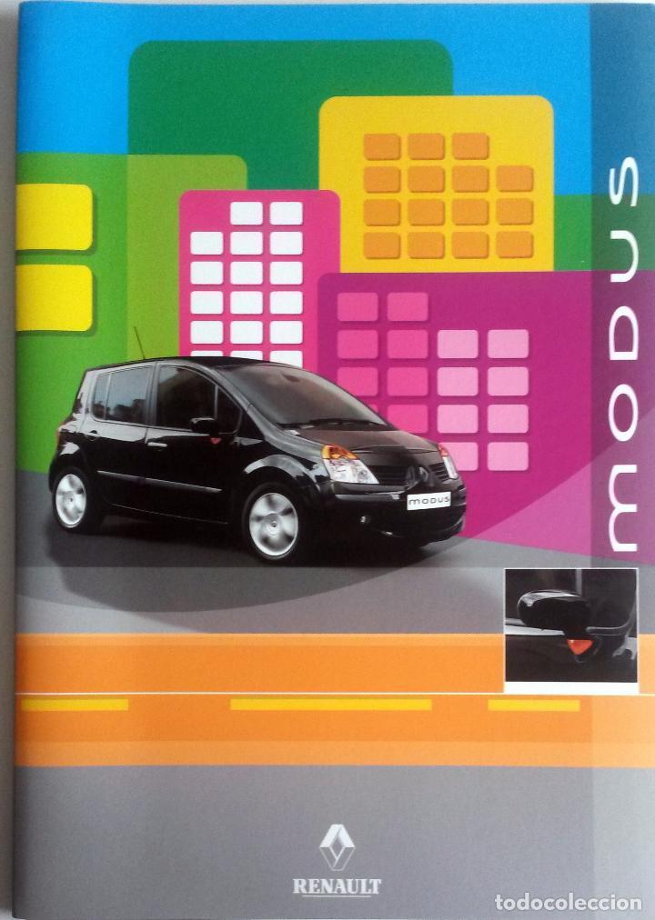 DOSSIER DE PRENSA OFICIAL RENAULT - MODUS - 2004. (Coches y Motocicletas Antiguas y Clásicas - Catálogos, Publicidad y Libros de mecánica)
