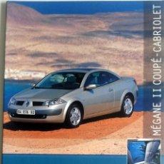 Coches y Motocicletas: DOSSIER DE PRENSA OFICIAL RENAULT - MÉGANE COUPÉ II CABRIOLET - 2003.. Lote 86132532