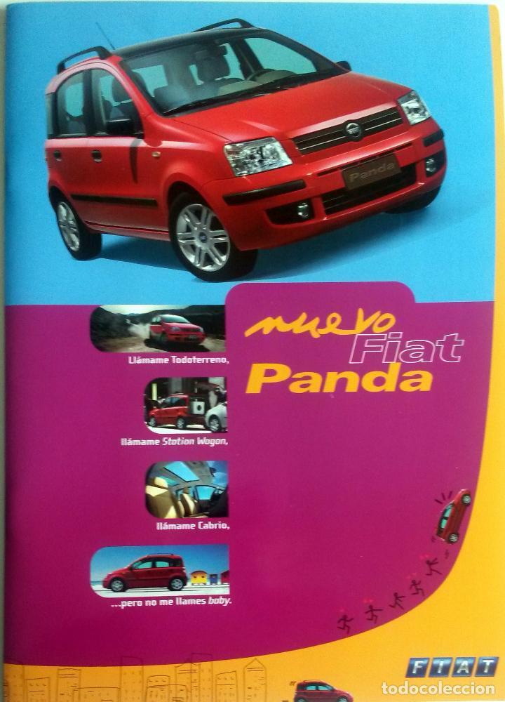DOSSIER DE PRENSA OFICIAL NUEVO FIAT PANDA. AÑO 2003. (Coches y Motocicletas Antiguas y Clásicas - Catálogos, Publicidad y Libros de mecánica)
