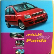 Coches y Motocicletas: DOSSIER DE PRENSA OFICIAL NUEVO FIAT PANDA. AÑO 2003.. Lote 86135912