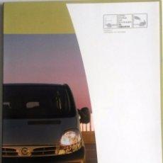 Coches y Motocicletas: DOSSIER DE PRENSA OFICIAL NISSAN PRIMASTAR. AÑO 2003... Lote 86137076