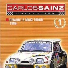 Coches y Motocicletas - CARLOS SAINZ COLLECTION Nº 1 RENAULT 5 MAXI TURBO 1986 - 86461496