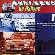Coches y Motocicletas: NUESTROS CAMPEONES DE RALLYES Nº 01 PORSCHE 911 SC ZANINI. Lote 139910310