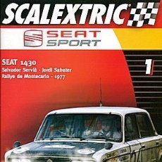 Coches y Motocicletas: SCALEXTRIC SEAT SPORT Nº1 SEAT 1430 SERVIA. Lote 86461680