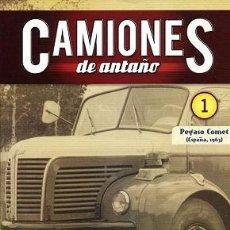 Coches y Motocicletas: CAMIONES DE ANTAÑO Nº 01 PEGASO COMET. Lote 86464804