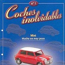 Coches y Motocicletas: COCHES INOLVIDABLES Nº 01 AUSTINI MINI. Lote 86465796
