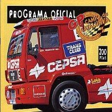 Coches y Motocicletas: GP CAMION PROGRAMA OFICIAL 1998. Lote 86468080