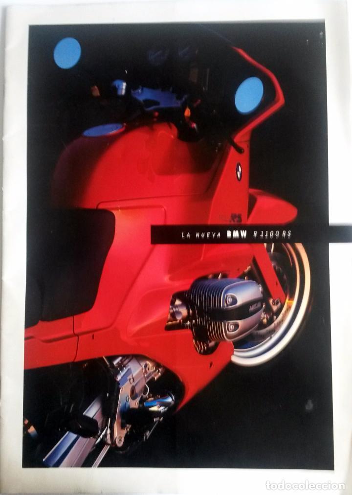 CATÁLOGO ORIGINAL BMW R 1100 RS.AÑO 1993. (Coches y Motocicletas Antiguas y Clásicas - Catálogos, Publicidad y Libros de mecánica)