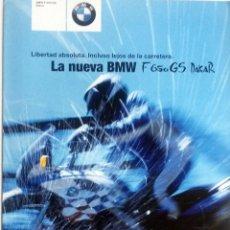 Coches y Motocicletas: CATÁLOGO ORIGINAL BMW NUEVA F 650 GS DAKAR.. Lote 86567772