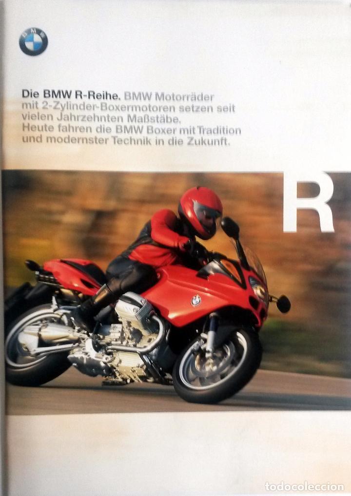 CATÁLOGO ORIGINAL BMW SERIE R. AÑO 1998. IDIOMA: ALEMÁN. (Coches y Motocicletas Antiguas y Clásicas - Catálogos, Publicidad y Libros de mecánica)