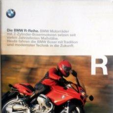 Coches y Motocicletas: CATÁLOGO ORIGINAL BMW SERIE R. AÑO 1998. IDIOMA: ALEMÁN. . Lote 86574612