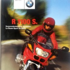 Coches y Motocicletas: CATÁLOGO ORIGINAL BMW R 1100 S. BOXER-SPORT.. Lote 86577116