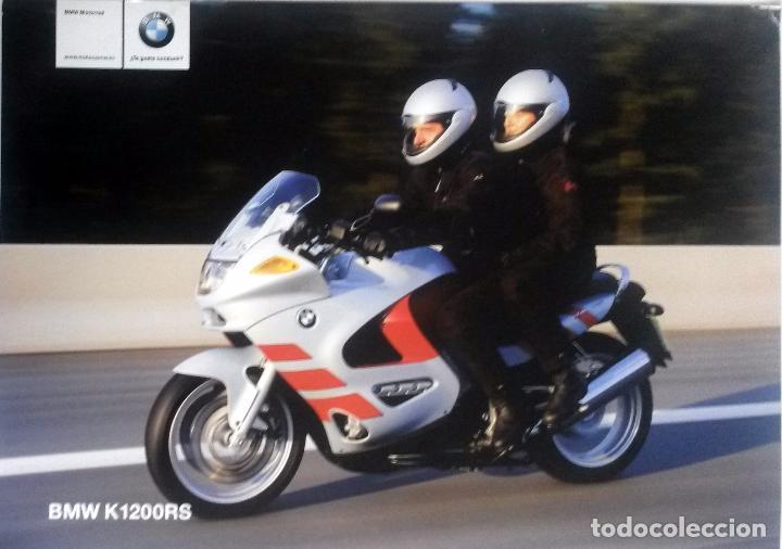 CATÁLOGO ORIGINAL BMW K1200RS. (Coches y Motocicletas Antiguas y Clásicas - Catálogos, Publicidad y Libros de mecánica)