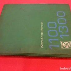 Coches y Motocicletas: MINI MORRIS 1100-1300. MANUAL DE TALLER. WORKSHOP MANUAL. ORIGINAL AÑOS 1970S. Lote 86710256