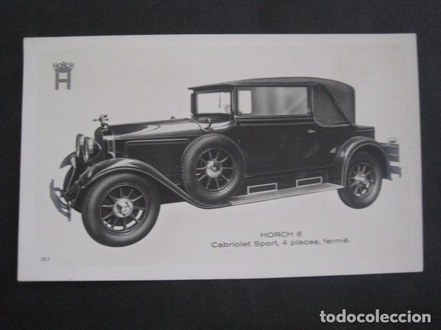 HORCH 8 - CABRIOLET SPORT-PEQUEÑO CARTEL -VER FOTOS-(V-11.074) (Coches y Motocicletas Antiguas y Clásicas - Catálogos, Publicidad y Libros de mecánica)