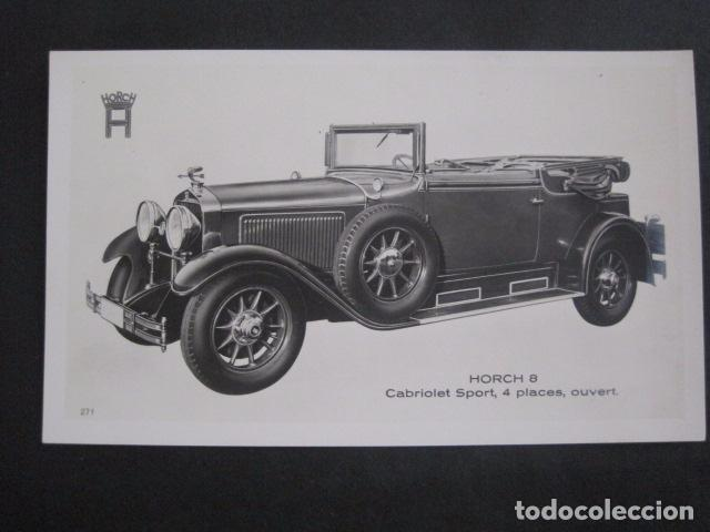 HORCH 8 - CABRIOLET SPORT-PEQUEÑO CARTEL -VER FOTOS-(V-11.075) (Coches y Motocicletas Antiguas y Clásicas - Catálogos, Publicidad y Libros de mecánica)