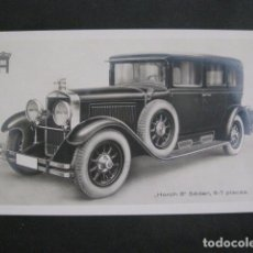 Coches y Motocicletas: HORCH 8 - SEDAN -PEQUEÑO CARTEL -VER FOTOS-(V-11.076). Lote 86746856