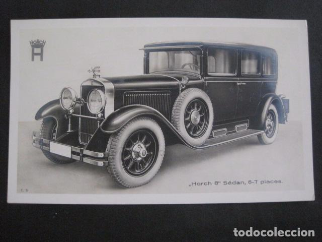 Coches y Motocicletas: HORCH 8 - SEDAN -PEQUEÑO CARTEL -VER FOTOS-(V-11.076) - Foto 2 - 86746856