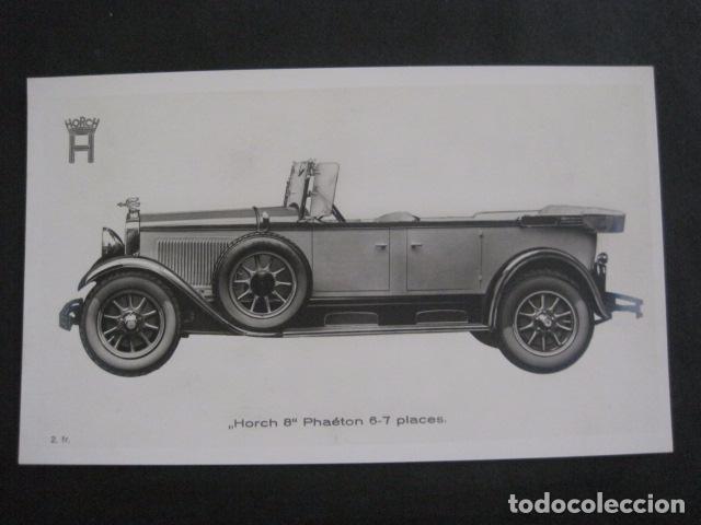 HORCH 8 - PHAETON -PEQUEÑO CARTEL -VER FOTOS-(V-11.077) (Coches y Motocicletas Antiguas y Clásicas - Catálogos, Publicidad y Libros de mecánica)