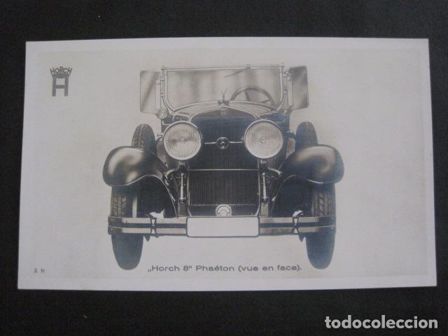 HORCH 8 - PHAETON -PEQUEÑO CARTEL -VER FOTOS-(V-11.078) (Coches y Motocicletas Antiguas y Clásicas - Catálogos, Publicidad y Libros de mecánica)