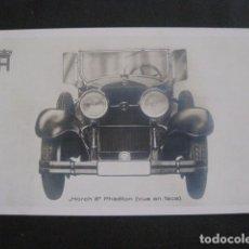 Coches y Motocicletas: HORCH 8 - PHAETON -PEQUEÑO CARTEL -VER FOTOS-(V-11.078). Lote 86746988