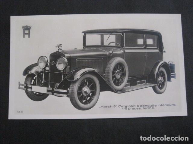 HORCH 8 - CABRIOLET PULLMAN -PEQUEÑO CARTEL -VER FOTOS-(V-11.082) (Coches y Motocicletas Antiguas y Clásicas - Catálogos, Publicidad y Libros de mecánica)