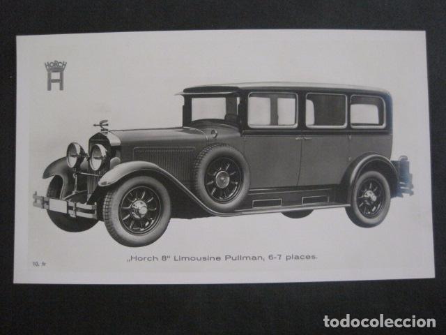 HORCH 8 - LIMOUSINE PULLMAN -PEQUEÑO CARTEL -VER FOTOS-(V-11.083) (Coches y Motocicletas Antiguas y Clásicas - Catálogos, Publicidad y Libros de mecánica)