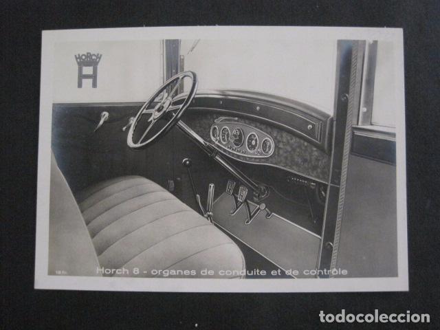 HORCH 8 -PEQUEÑO CARTEL -VER FOTOS-(V-11.087) (Coches y Motocicletas Antiguas y Clásicas - Catálogos, Publicidad y Libros de mecánica)