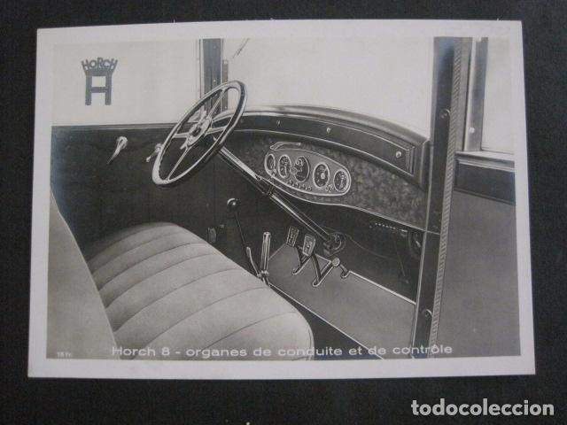 Coches y Motocicletas: HORCH 8 -PEQUEÑO CARTEL -VER FOTOS-(V-11.087) - Foto 2 - 86747864