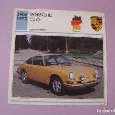 Coches y Motocicletas: AUTOS DE COLECCIÓN. PLANETA DE AGOSTINI. 1992. PORSCHE 911S. Lote 86878912