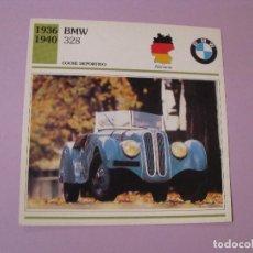 Coches y Motocicletas: AUTOS DE COLECCIÓN. PLANETA DE AGOSTINI. 1992. BMW 328. Lote 86879088