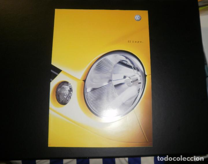 FOLLETO/CATÁLOGO DE COCHES. VOLKSWAGEN LUPO. 2001 ENERO, 50 PÁGINAS (Coches y Motocicletas Antiguas y Clásicas - Catálogos, Publicidad y Libros de mecánica)