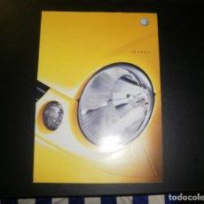 Coches y Motocicletas: FOLLETO/CATÁLOGO DE COCHES. VOLKSWAGEN LUPO. 2001 ENERO, 50 PÁGINAS. Lote 87186272