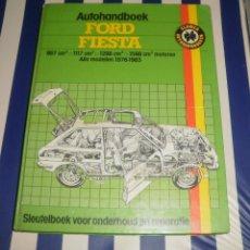 Coches y Motocicletas: MANUAL/LIBRO. FORD FIESTA (1976-1983). HAYNES/KLUWER, 1984, EN HOLANDÉS-FLAMENCO, USADO BUEN ESTADO. Lote 87187144