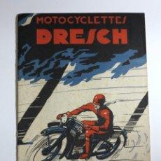 Coches y Motocicletas: MOTOCYCLETTES DRESCH. LIBRO DE INSTRUCCIONES. FRANCIA 1932. Lote 87431076
