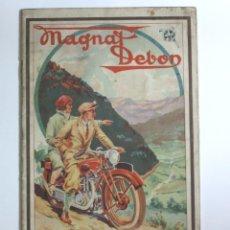 Coches y Motocicletas: MOTOCYCLETTES MAGNAT DEBON. LIBRO DE INSTRUCCIONES. FRANCIA 1930. Lote 87431676
