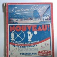 Coches y Motocicletas: LIBRO L´AUTOMOBILE. FRANCIA 1931. Lote 87433680