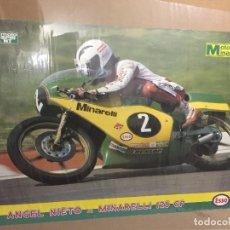 Coches y Motocicletas: POSTER MOTO MINARELLI ANGEL NIETO. Lote 87462636