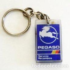 Coches y Motocicletas: LLAVERO - PEGASO - SERVICIO RECAMBIOS - LOGOTIPO DE MARCA DE CAMIONES AUTOBUSES - OTROS EN VENTA. Lote 87663952