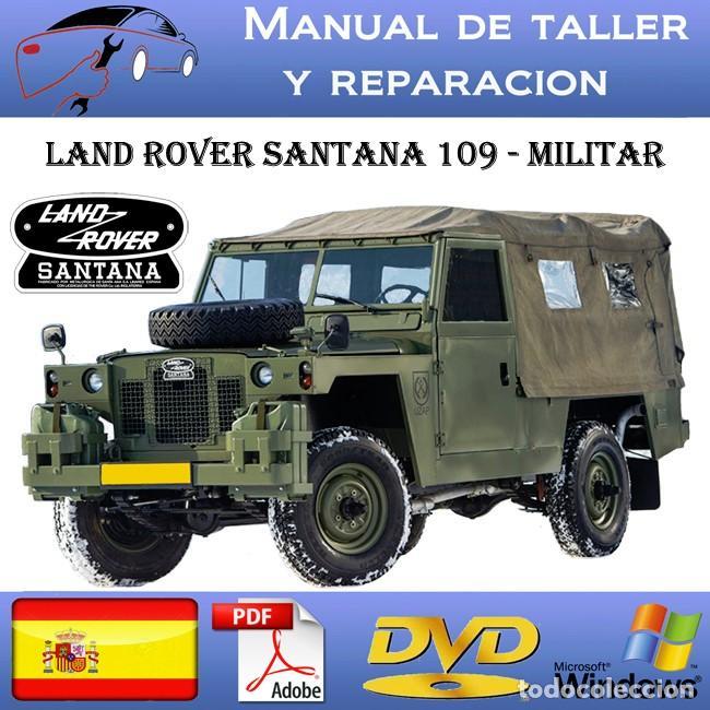 land rover santana - 109 - militar - manual de - verkauft durch