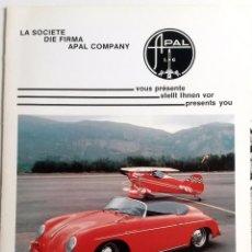 Coches y Motocicletas: CATÁLOGO ORIGINAL APAL SPEEDSTER. AÑO 1986. IDIOMAS: FRANCÉS / FLAMENCO.. Lote 87816636