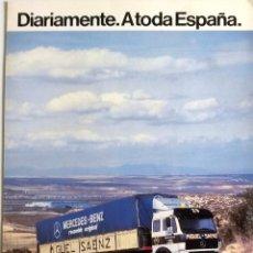 Coches y Motocicletas: CATÁLOGO ORIGINAL RECAMBIOS MERCEDES-BENZ. AÑO 1985.. Lote 87817624