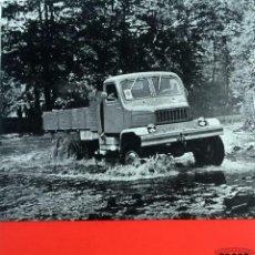 Coches y Motocicletas: CATÁLOGO ORIGINAL PRAGA V3S. AÑO 1961.. Lote 87832696