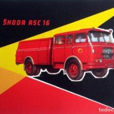 Coches y Motocicletas: CATÁLOGO ORIGINAL SKODA ASC 16. -BOMBEROS- AÑO 1962.. Lote 87836600