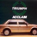 Coches y Motocicletas: CATÁLOGO ORIGINAL TRIUMPH ACCLAIM. AÑO 1977.. Lote 87840516